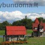 Triušių miestelis Latvijoje
